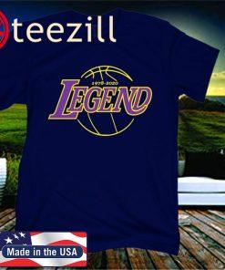 Legend Basketball Rest in Peace RIP -1978-2020- Girls T-Shirt