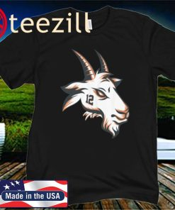 Limited Edition Tom Brady GOAT 12, Tampa Bay Buccaneers T-Shirt