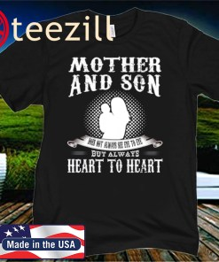 Mother Day 2020 And Son But Always Heart To Heart Shirt