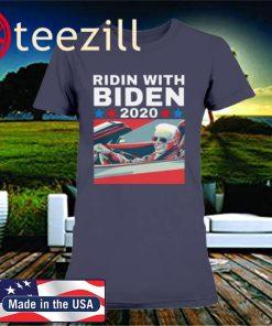 RIDIN WITH BIDEN SHIRT, RIDIN WITH BIDEN 2020 FOR PRESIDENT VINTAGE SHIRT, RIDIN WITH BIDEN 2020 ELECTION TSHIRT, VOTE JOE BIDEN