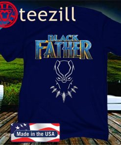 Marvel Avengers Black Panther Black Father's Day TShirt