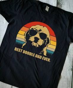 Best doodle dad ever shirt, doodle dad shirt fathers day 2020 T-shirt