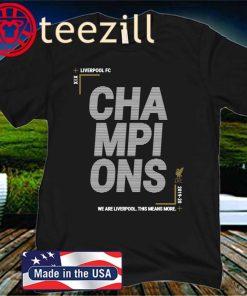 LFC Junior Premier League Champions 19-20 T-Shirt