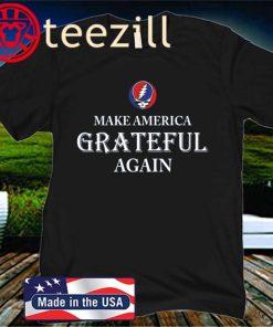 Make America Grateful Again Logo Shirt