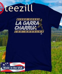 DIEGO ROSSI LA GARRA CHARRUA LOS ANGELES T-SHIRT