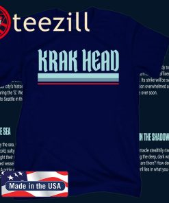 Krak Head Seattle Hockey T-Shirt