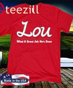 Lou Official T-Shirt - Tuscaloosa Football