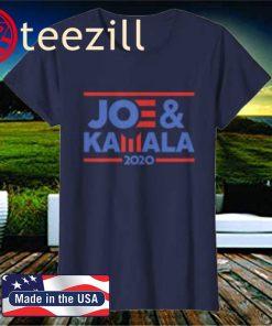 Joe And Kamala 2020 T-shirt for Joe Biden & Kamala Harris T-Shirt