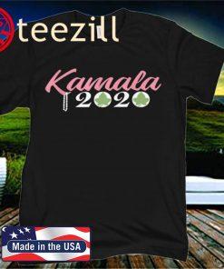 KAMALA HARRIS 2020 SORORITY PINK PRETTY GREEN 2020 SHIRT