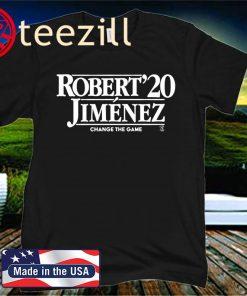 Robert Jiménez 2020 T-Shirt Chicago - MLBPA Licensed