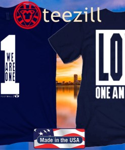 WE ARE ONE – LOVE ONE ANOTHER OFFICIAL T-SHIRT