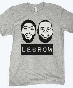Lebron James And Anthony Davis Lebrow T-Shirt