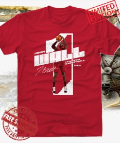 John Wall Shirt Washington Basketball