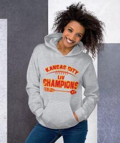 KC LIV Champions 2021 Chiefs Champions Hoodie Shirt