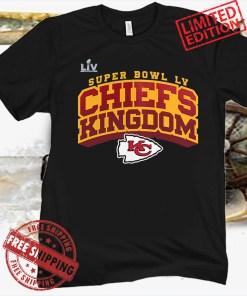 Kansas City Chiefs Super Bowl LV Chiefs Tee Shirt