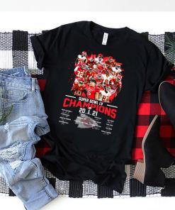 Kansas City Chiefs super bowl liv champion 2021 signatures shirt,Gift For Fan, NFL Champion shirt,Kansas City Chiefs Lover,Sport Lover Shirt
