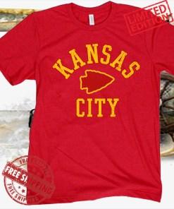 Kansas City KC T-Shirt Womens Mens Kids