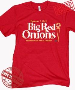 Kansas City's Big Red Onions Shirt - Kansas City Chiefs