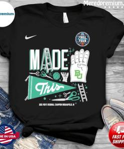 Baylor Bears 2021 NCAA Men's Basketball Final Four Shirt