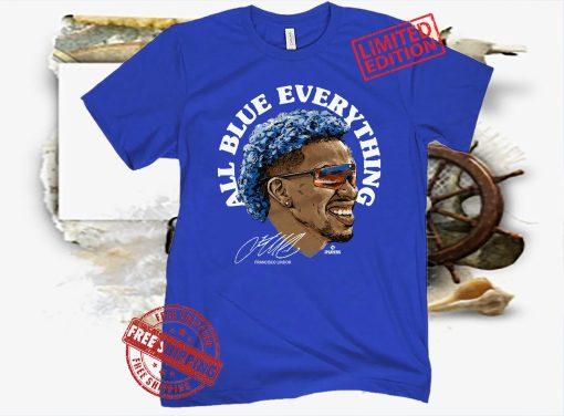 Francisco Lindor All Blue Everything Shirt