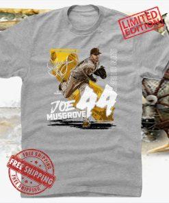 Joe Musgrove 44 San Diego Pittsburgh Baseball T-Shirt