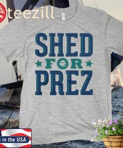 Shed Long for Prez Seattle Classic T-Shirt