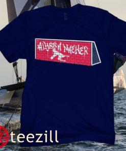 Brick Wall Alyssa Naeher United States Shirt