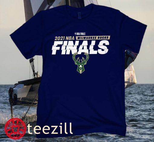 LOGO 2021 NBA FINALS T-SHIRT
