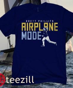 Brett Phillips Airplane Mode TB Rays Shirt