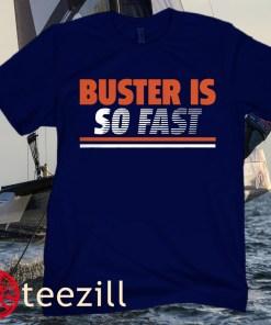 Buster Posey Is So Fast Shirt - San Francisco Giants Baseball