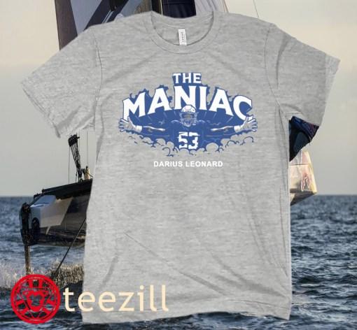 Darius Leonard The Maniac Indianapolis Shirt
