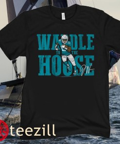 Jaylen Waddle To The House Football T-Shirt
