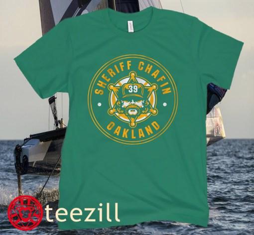 Sheriff Chafin Oaktown Officially Baseball Shirt