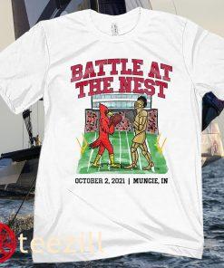 BATTLE AT THE NEST OCTOBER 2 - 2021 MUNCIE IN TEE SHIRT