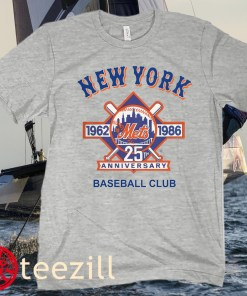 Baseball 1926 1986 25th New York T-Shirt