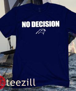 Logo Carolina Panthers No Decision T-Shirt