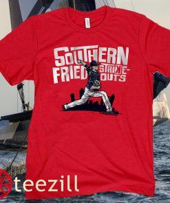 Max Fried Southern Fried Strikeouts Baseball Shirt