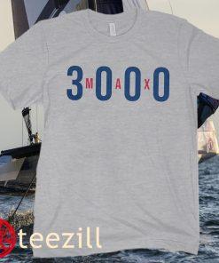 Max Scherzer 3,000th Strikeout Baseball Shirts