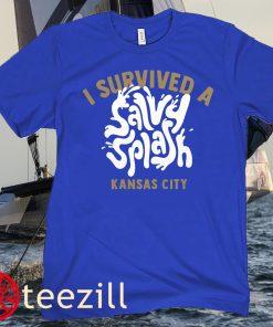Salvador Perez- Salvy Splash 2021 Shirts Kansas City Royals