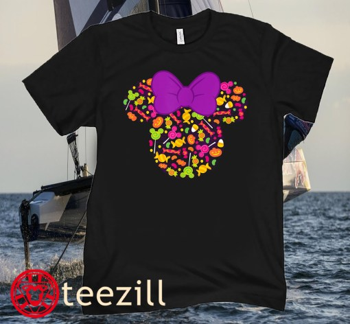 Disney Minnie Mouse Icon Candy Halloween Classic T-ShirtDisney Minnie Mouse Icon Candy Halloween Classic T-Shirt