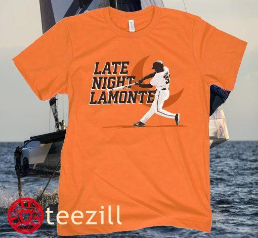 LATE NIGHT LAMONTE TEE SHIRT