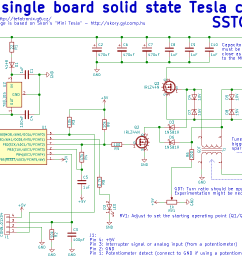 tefatronix solid state tesla coil iv schematic of isstc solid state tesla coil with interrupter [ 1068 x 774 Pixel ]