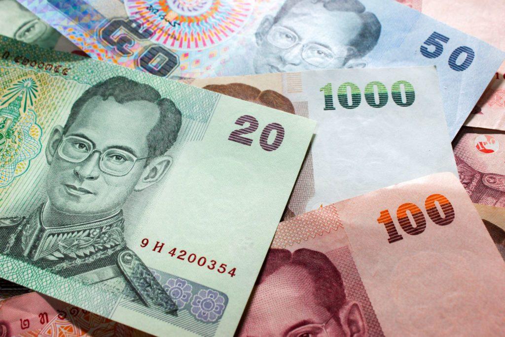 Cash Baht Thailand