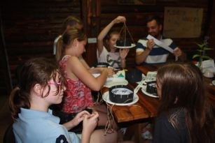 Teaching kids in Summer Camps