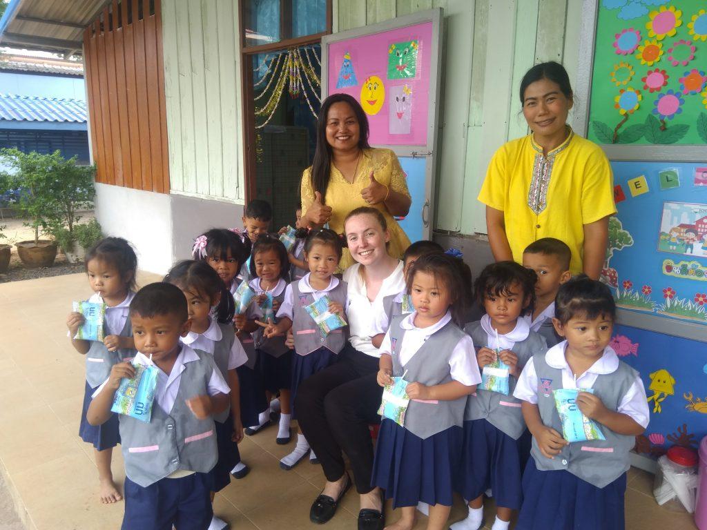 Caoimhe in Thailand