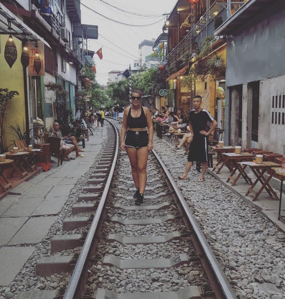 Sarah in Hanoi