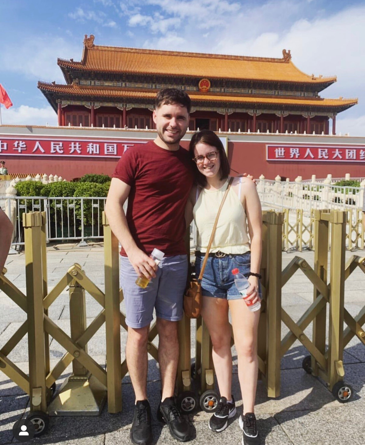 Amy in China