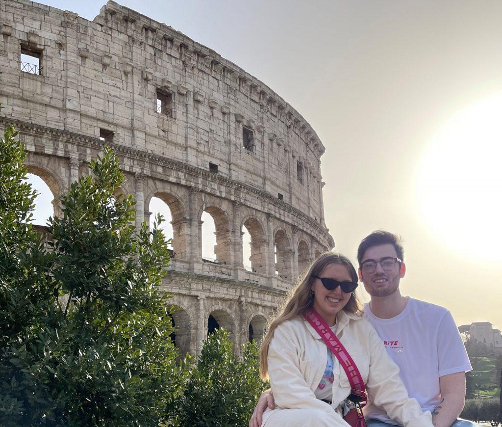 TEFL couple teaching English in Rome