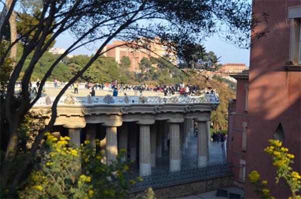 Barcelona Parc Guel by Alina Maria Nicolae for TEFL Barcelona Spain