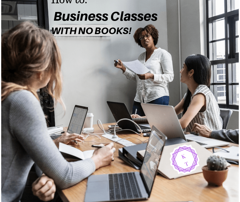 Business English Classes with No Books